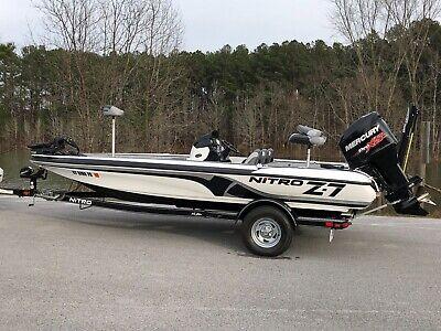 2014 Nitro Z7 Bass Boat