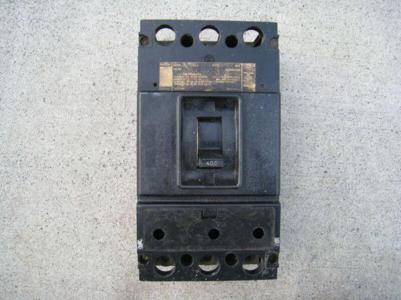 Westinghouse DA3400 3-P, 400A, 240V, type DA Circuit Breaker