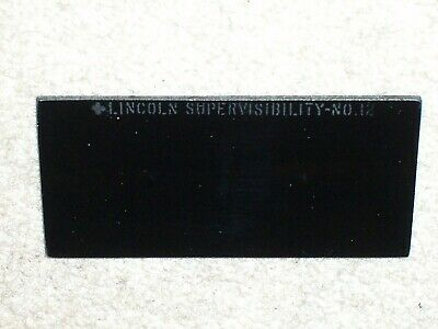 1 Lincoln Supervisibility No. 12 Welding Glass Lens Shade