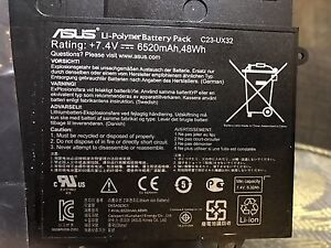 Brand New Genuine Asus Battery for Zenbook C23-UX32