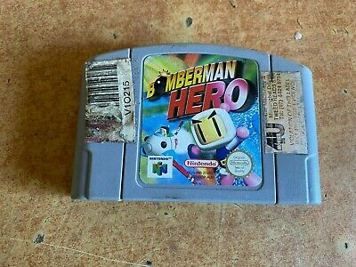 Bomberman Hero - Nintendo 64 N64 #Z206