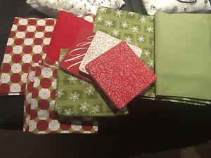 Christmas table linen set