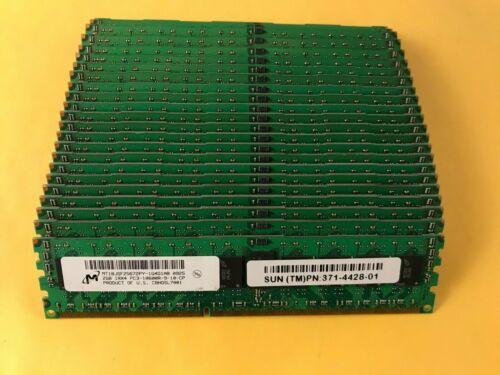 Micron 48GB ( 24x 2GB ) 1Rx4 PC3 -10600R DDR3 1333 MHz ECC Server Memory RAM