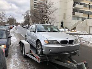 BMW remiser besoin d'une inspection méc