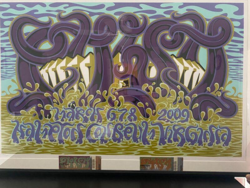 Phish - Hampton Coliseum 2009 - Official Limited Edition Screen Print