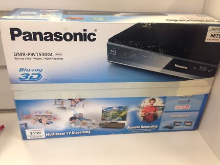 Panasonic DMR-PWT530GL 3D Blu Ray & HDD Recorder #54980 Midland Swan Area Preview
