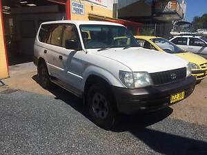 2002 Toyota LandCruiser Prado RV Wagon Salamander Bay Port Stephens Area Preview