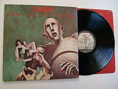 QUEEN - NEWS OF THE WORLD LP VINYL EX+EX+ Rare 1977 Original Album UK 1st Press