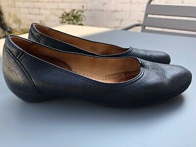 Gabor Change Ladies Black Leather Shoes. Uk 6.5