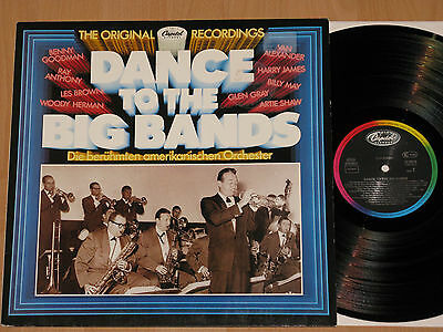 LP DANCE TO THE BIG BANDS  BENNY GOODMAN - ARTIE SHAW - WOODY HERMAN - LES BROWN
