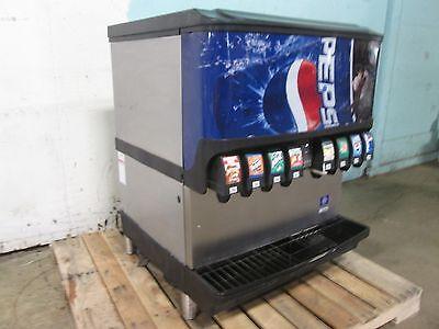 Servend - Sv200i H.d. Commercial Nsf Lighted 8 Heads Soda Wice Dispenser