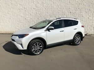 2016 RAV4 Limited AWD  -  Only 11,600 km!