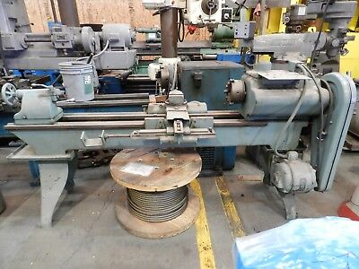 Leblond Regal Lathe 17 Swing 7.5 Chuck 60 Between Centers. Coursefine Tpi