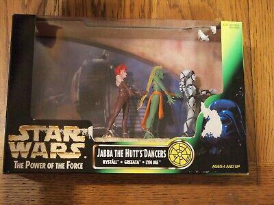 Hasbro Star Wars 1998 Power of the Force Jabba the Hutt's Dancers, MIB