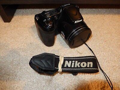 Nikon COOLPIX L820 16.0MP Digital Camera - Black - READ DESCRIPTION