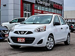 2015 Nissan Micra S No Accidents One Owner  FREE Delivery