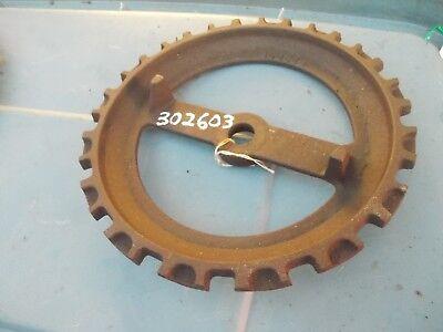 1 Used 302603 Steel Cast Iron John Deere Planter Seed Plate