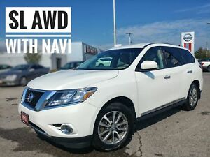 2014 Nissan Pathfinder SL Navi Htd Seats Tow Pkg  FREE Delivery