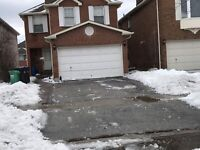 Snow and ice  removal available right away 289-772-7822