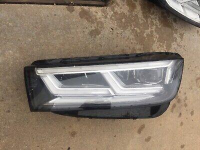 2017 2018 2019 AUDI Q5 SQ5 HEADLIGHT DRIVER LEFT FULL LED 17-19 OEM 80A941033B