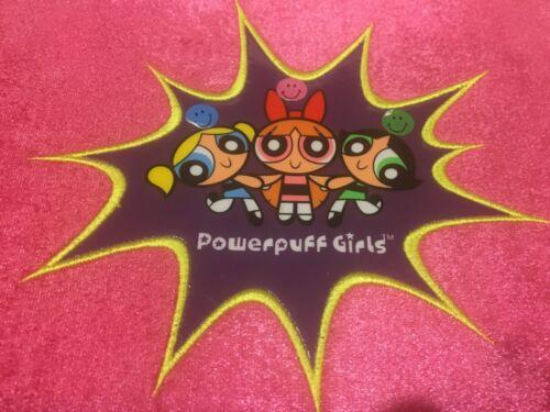 Power puff Girls Buttercup Bubbles & Blossom School Binder Organizer Fur PLUSH