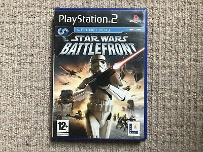 Star Wars Battlefront - Playstation 2 PS2 Complete PAL (A)