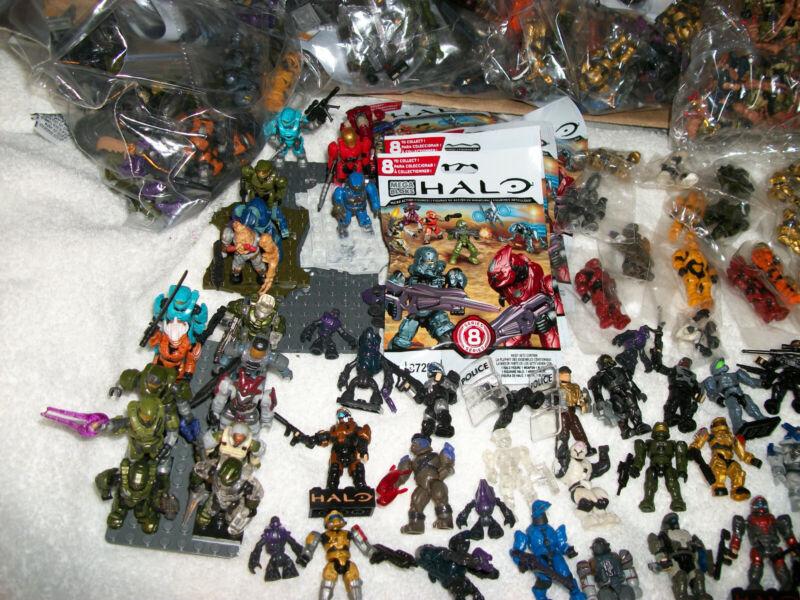 Halo Mega Bloks figures MASSIVE COLLECTION SALE get TEN(10