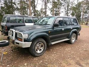 1995 Toyota landcruiser manual gxl Newcastle Newcastle Area Preview