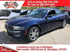 2016 Dodge Charger SXT, Auto, Navigation, Back Up Camera, AWD