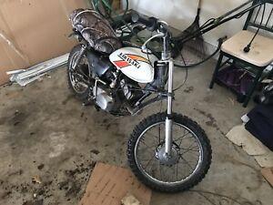 1973 Kawasaki KD 100 2 stroke