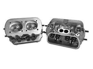 NEW Pair  VW 1600 DUAL PORT CYLINDER HEADS,  90.5/92mm BORE