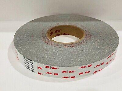 3m Vhb 4926 Acrylic Foam Tape Gray 1-inch X 72 Yds 15 Mil
