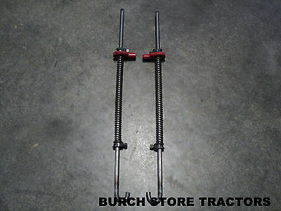 New Farmall Back Rear Cultivator Spring Lift Rods 140 130 Super A 100 Tractors