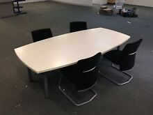 Conference Table with 4 Chairs Frenchs Forest Warringah Area Preview