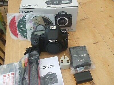 Canon EOS 7D Digital Camera Excellent condition.