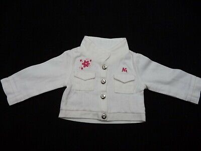 American Girl - Licorice Best Friend White Jean Jacket - Retired - Excellent