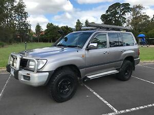 2001 Toyota LandCruiser Wagon Blackburn South Whitehorse Area Preview