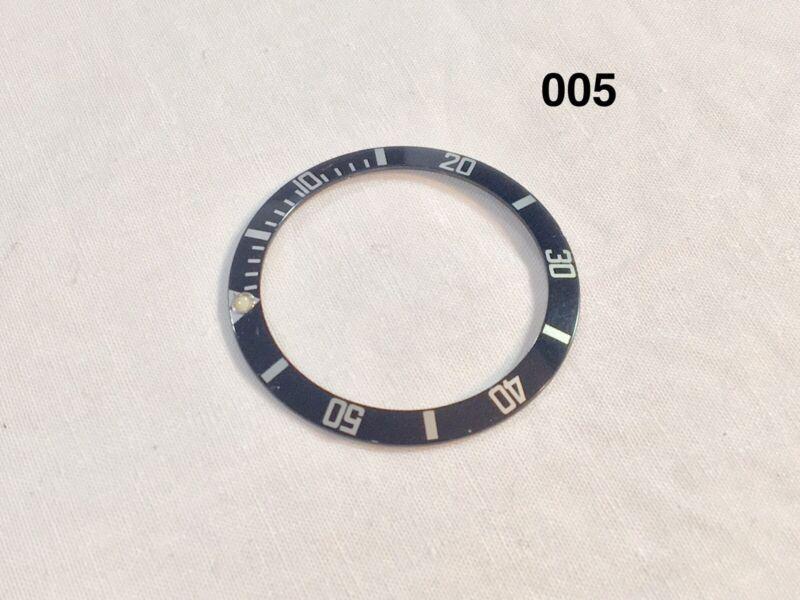 Authentic Rolex Submariner Black Bezel Insert 16610 16800 OEM