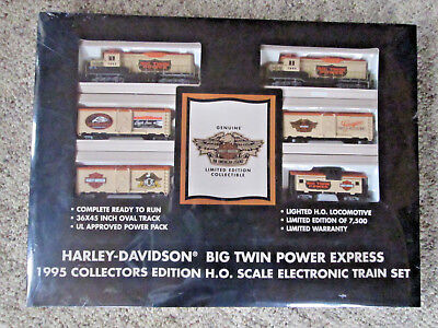 Harley-Davidson Train Set Big Twin Power Express HO 1995, used for sale  Timberlake