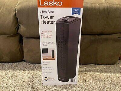 Lasko Ultra Slim Oscillation Tower Raumheizer 1500 Watt Schwarz 3 - Einstelllüfter