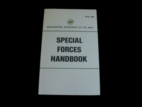 U.S ARMY SPECIAL FORCES MILITARY HANDBOOK TRAINING ST31-180