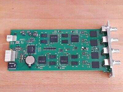 Axis Q7414 Quad Channel 4-channel Video Encoder Blade Module