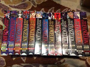 Neon Genesis Evangelion VHS complete set