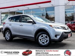 2014 Toyota RAV4 AWD LE Clean Carfax|Bluetooth|Key-Less Entry|LO