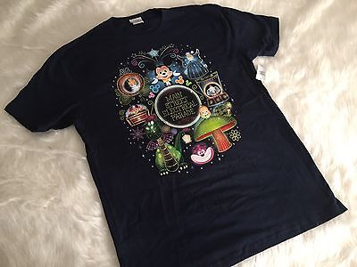 Nwt Disneyland 2017 Main Street Electric Light Parade T Shirt By Maruyama Small