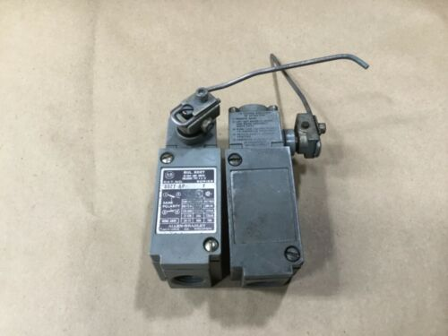 Lot Of 2 Allen-Bradley Oiltight Limit Switch With Arm 802T-AP Ser: F #28I51