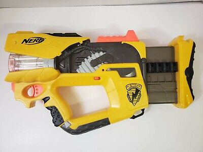 Nerf N-Strike REV 8 Firefly Dart Blaster w/ Light Up Barrel. Darts not included