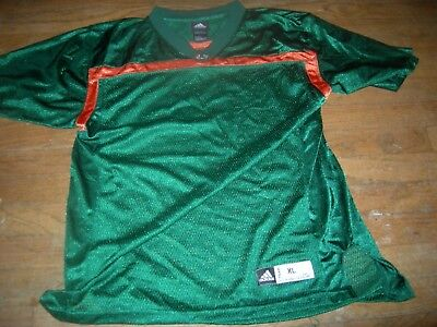 Miami Hurricanes New sz20 LUSH GREEN Jersey,CUSTOMIZE NAME/NUMBER for $47 MORE
