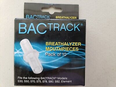 BACtrack Replaceable Mouthpieces 10 Pack