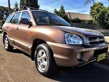 2006 Hyundai Santa Fe, Auto, low km, full service history Seven Hills Blacktown Area Preview